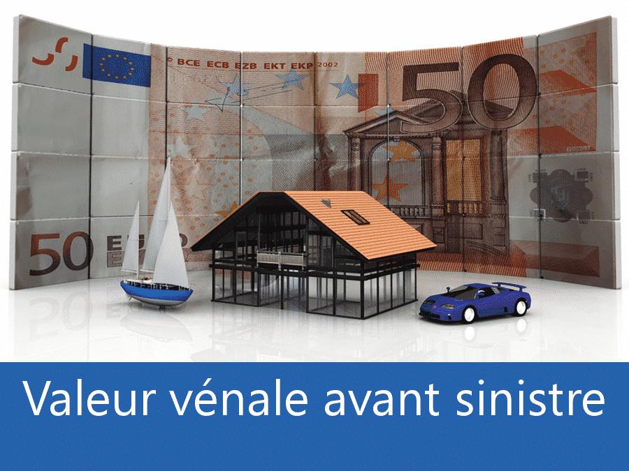 Valeur vénal avant sinistre 72, valeur des biens assurance Le Mans, expert valeur vénale Sarthe,